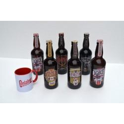 Combo 6 cervejas + caneca