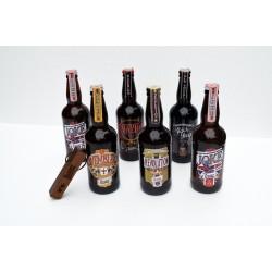 Combo 6 cervejas + abridor parafuso